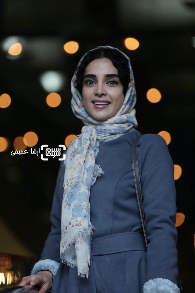 الهه حصاری در اکران فیلم «هایلایت» در کاخ رسانه سی و ششمین جشنواره فیلم فجر