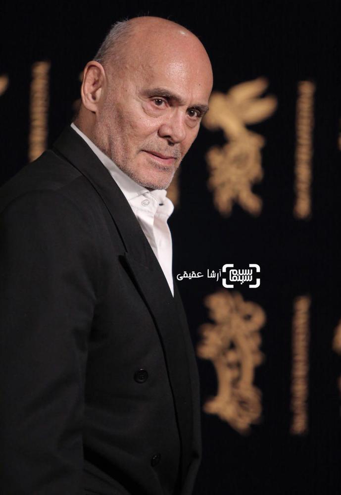 جمشید هاشم پور در کاخ رسانه سی و ششمین جشنواره فیلم فجر