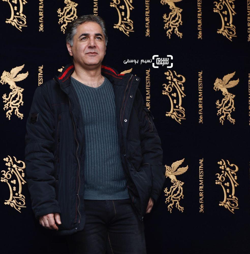مهدی صبایی در اکران فیلم سینمایی «ماهورا» در سی و ششمین جشنواره فیلم فجر