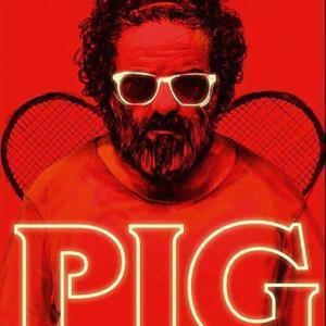نمایی از پوستر فیلم سینمایی «خوک»