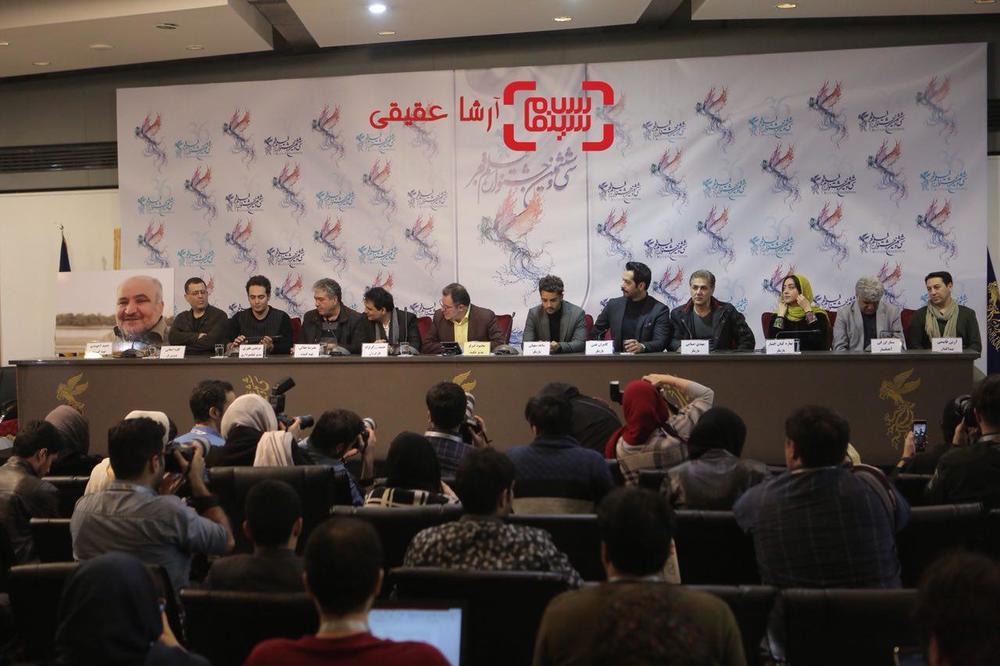 نشست خبری فیلم سینمایی «ماهورا» در سی و ششمین جشنواره فیلم فجر