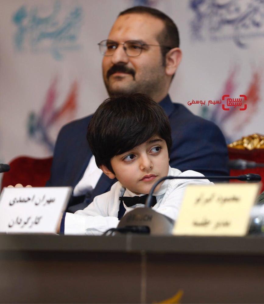 امیرصدرا حقانی در نشست خبری فیلم «مصادره» در کاخ رسانه سی و ششمین جشنواره فیلم فجر