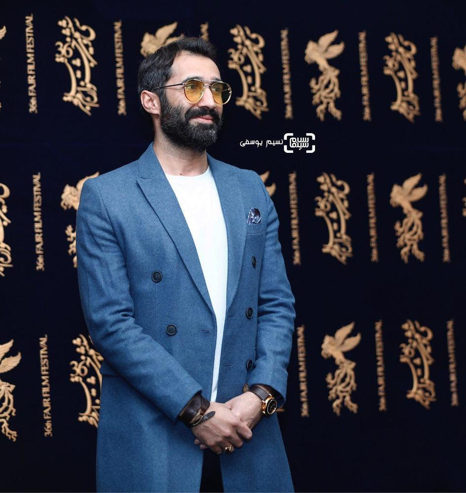 هادی کاظمی در اکران فیلم «مصادره» در کاخ رسانه سی و ششمین جشنواره فیلم فجر