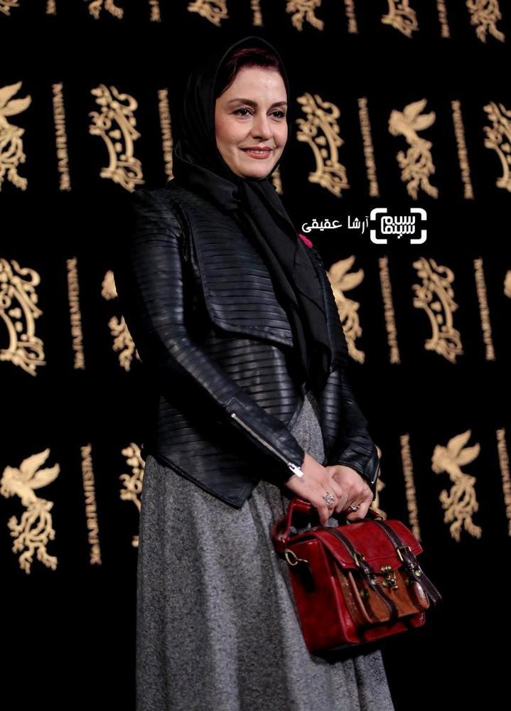 مریلا زارعی در فتوکال «سوءتفاهم» در کاخ رسانه سی و ششمین جشنواره فیلم فجر
