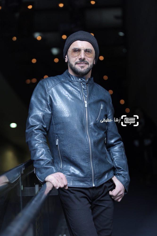 امین حیایی در اکران فیلم «دارکوب» در کاخ رسانه جشنواره فیلم فجر36