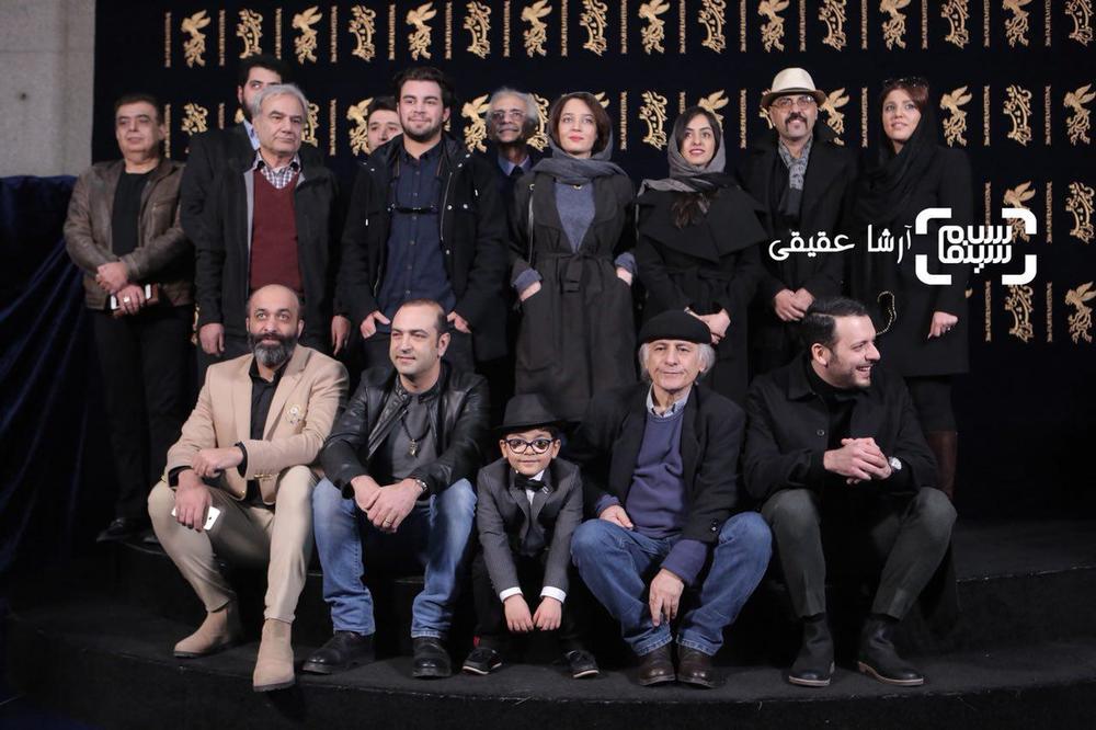 فتوکال فیلم «کار کثیف» در سی و ششمین جشنواره فیلم فجر