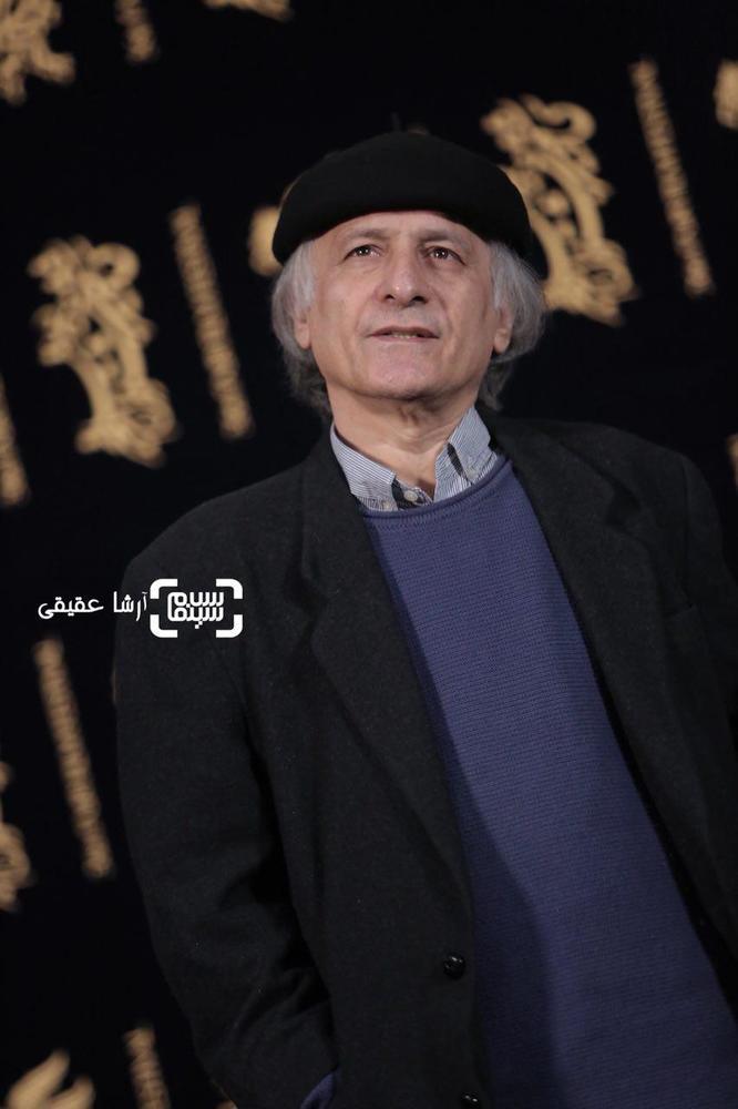 خسرو معصومی در فتوکال فیلم «کار کثیف» در سی و ششمین جشنواره فیلم فجر