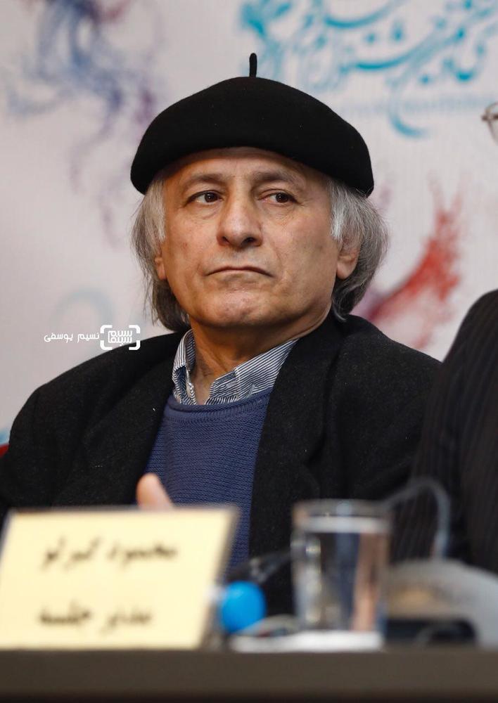 خسرو معصومی در نشست خبری فیلم «کار کثیف» در سی و ششمین جشنواره فیلم فجر