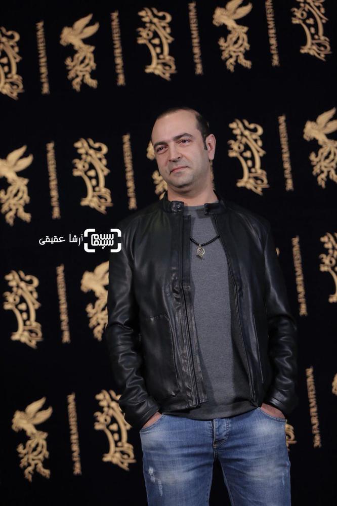 مهران نائل در فتوکال فیلم «کار کثیف» در سی و ششمین جشنواره فیلم فجر