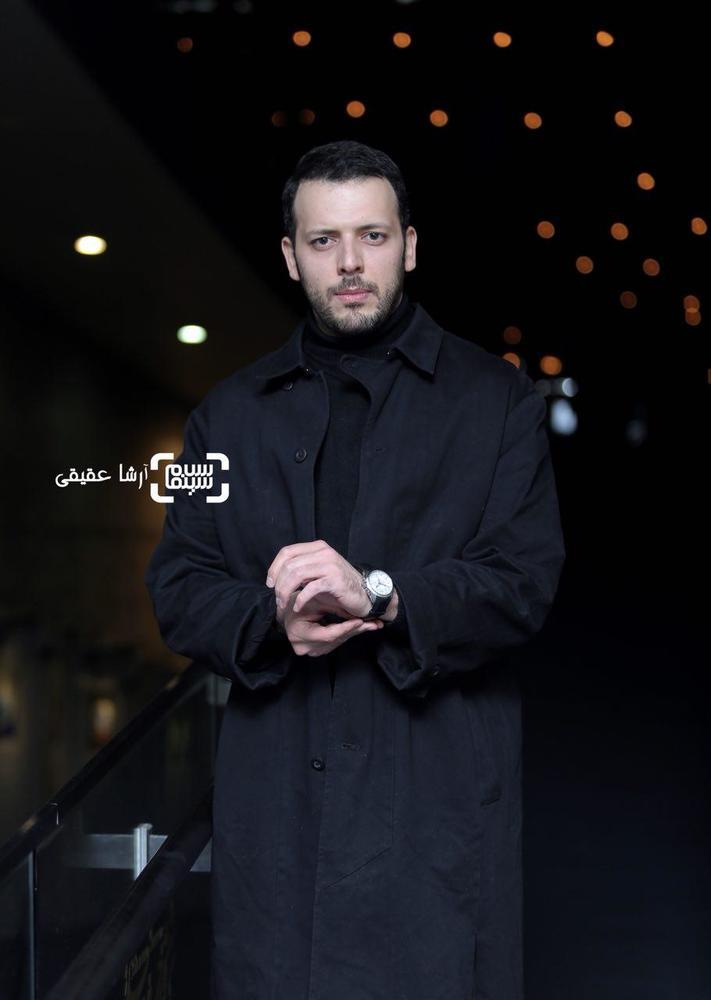 پدرام شریفی در فتوکال فیلم «کار کثیف» در سی و ششمین جشنواره فیلم فجر