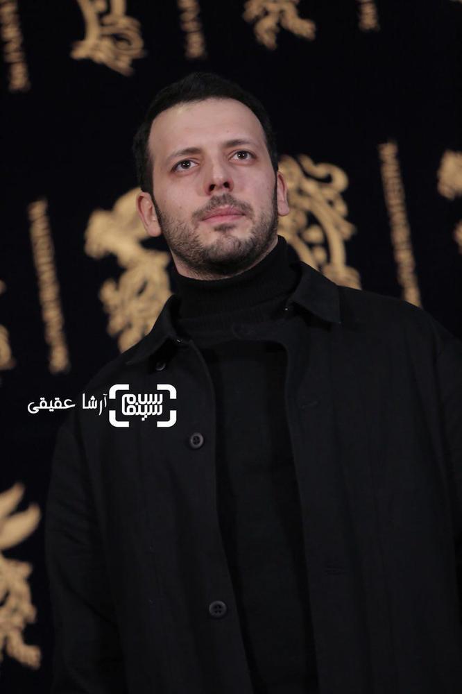 پدرام شریفی در اکران فیلم «کار کثیف» در سی و ششمین جشنواره فیلم فجر