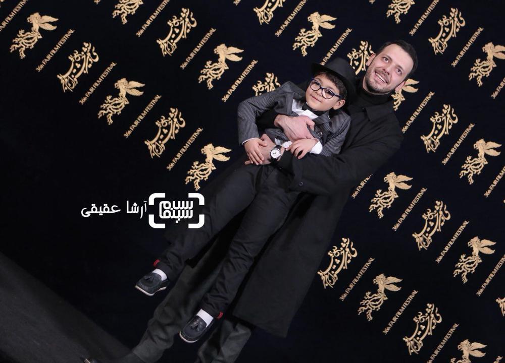 پدرام شریفی و سام ولی پور در فتوکال فیلم «کار کثیف» در سی و ششمین جشنواره فیلم فجر
