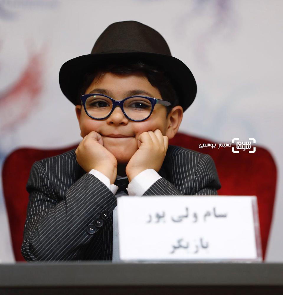 سام ولی پور در نشست خبری فیلم «کار کثیف» در سی و ششمین جشنواره فیلم فجر