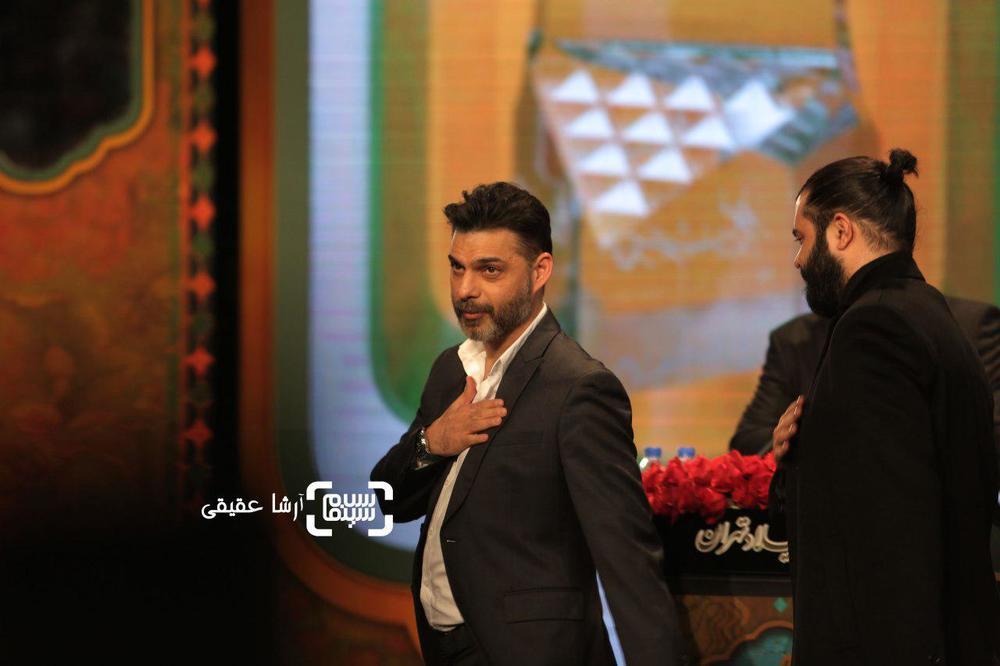 پیمان معادی برنده جایزه ویژه هیات داوران از سی و ششمین جشنواره فیلم فجر