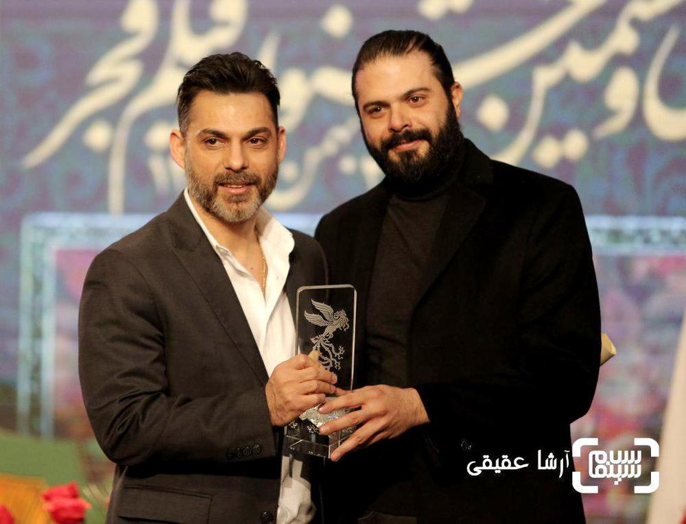پیمان معادی و احسان رسول اف برنده جایزه ویژه هیات داوران از سی و ششمین جشنواره فیلم فجر