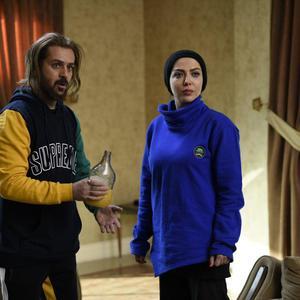 لیلا اوتادی و احمد مهران فر در فیلم «کاتیوشا»