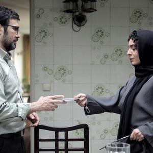 محمدرضا فروتن و ساره بیات در فیلم عادت نمی كنيم