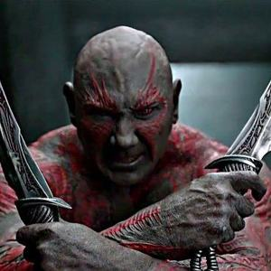 دیوید باتیستا در فیلم نگهبانان کهکشان (Guardians of the Galaxy)