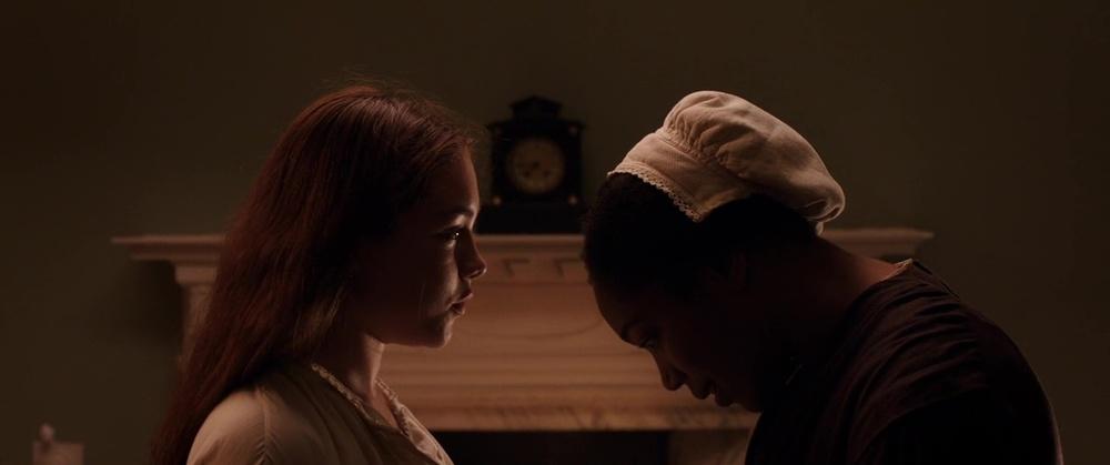 نائومی اکی و فلورانس پو در فیلم عاشقانه و درام «خانم مکبث »( Lady Macbeth )