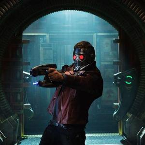 کریس پرت در نقش پیتر کوئیل در فیلم نگهبانان کهکشان