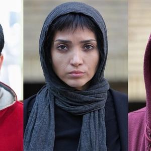 تست گریم خاطره اسدی، امیرحسین آرمان و آناهیتا درگاهی برای سریال «ممنوعه»