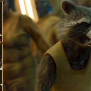 بردلی کوپر صداپیشه نقش راکت در فیلم نگهبانان کهکشان