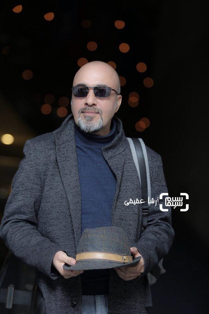 رضا عطاران در اکران فیلم «مصادره» در کاخ رسانه سی و ششمین جشنواره فیلم فجر
