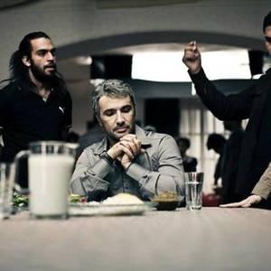 محمدرضا فروتن در پشت صحنه فیلم سایه روشن