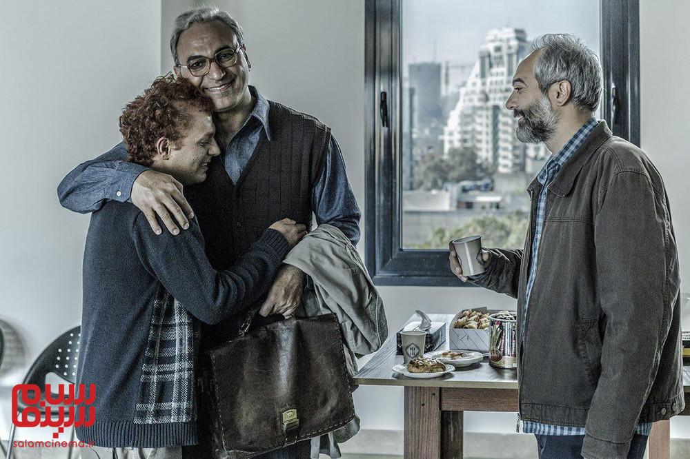 صابر ابر، حمید فرخ نژاد و علی قربانزاده در فیلم «بی حساب»