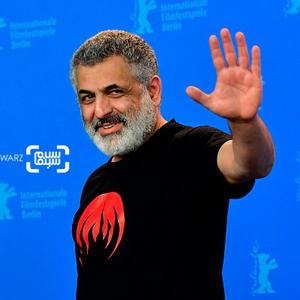 مانی حقیقی در  فتوکال فیلم «خوک» در جشنواره فیلم برلین