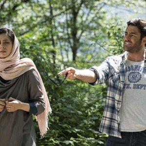 محمدرضا گلزار و پگاه آهنگرانی در فیلم خشکسالی و دروغ