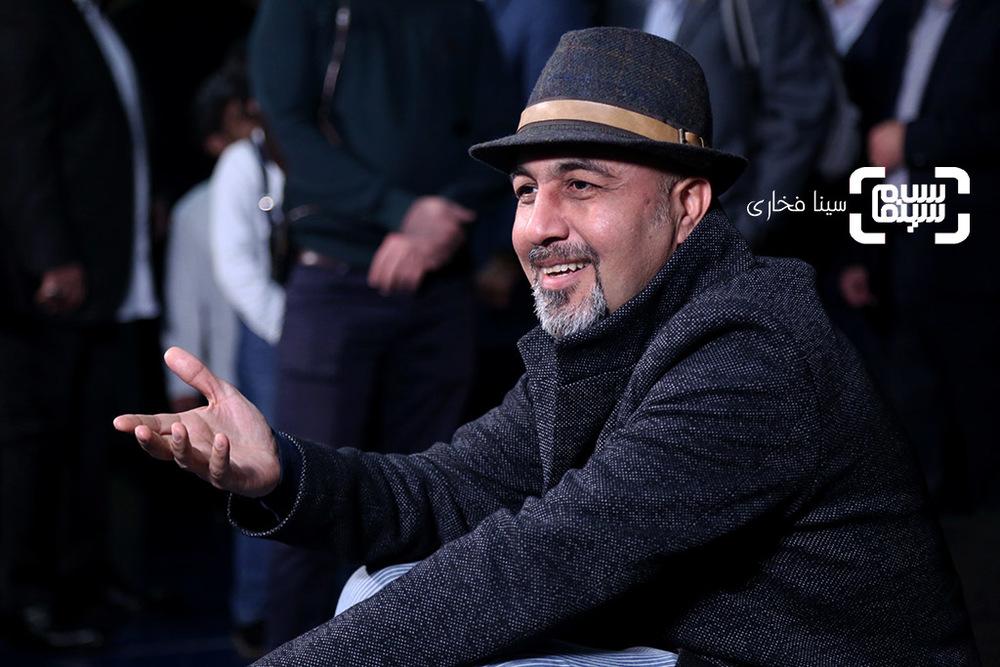 رضا عطاران در اکران فیلم «مصادره» در سی و ششمین جشنواره فیلم فجر
