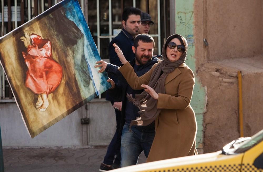هانیه توسلی و هومن سیدی در فیلم «مادری»
