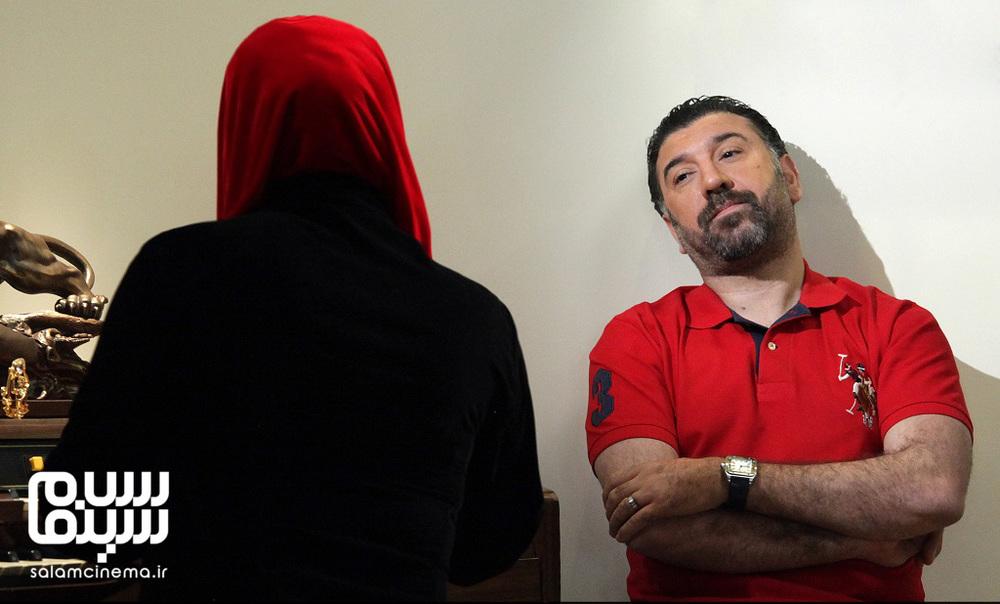 علی انصاریان در فیلم «عشق و خیانت»