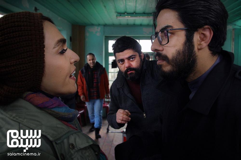 پوریا شکیبایی و سحر صباغ سرشت در فیلم «مشمشه»