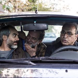 حمید فرخ نژاد، علی قربانزاده، آتیلا پسیانی و طناز طباطبایی در فیلم «بی حساب»