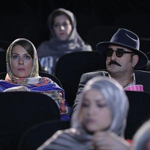 سارا بهرامی و مهران احمدی در سریال نمایش خانگی «ساخت ایران2»