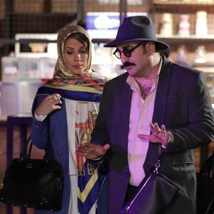 سارا بهرامی و مهران احمدی در سریال «ساخت ایران2»