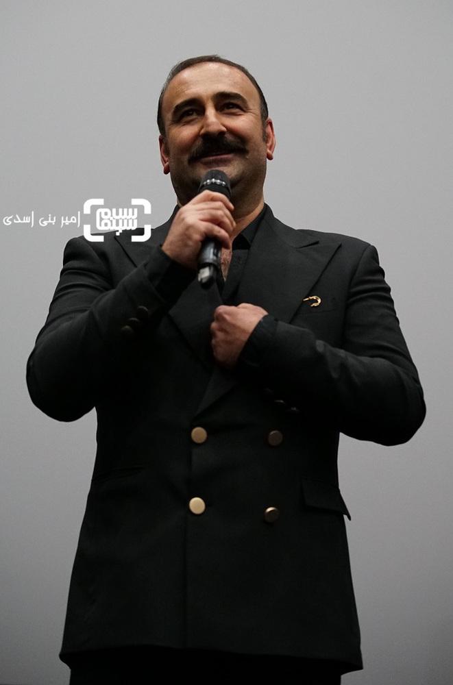 مهران احمدی در اکران مردمی فیلم «مصادره» در سینما کوروش