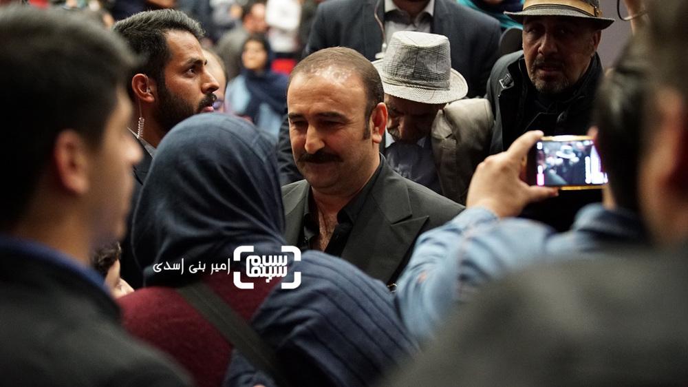 مهران احمدی در اکران مردمی فیلم سینمایی «مصادره» در سینما کوروش