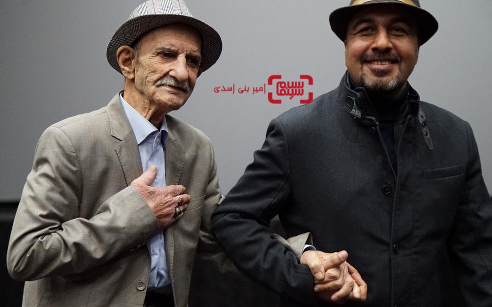 رضا عطاران و احمد پورمخبر در اکران مردمی فیلم سینمایی «مصادره» در سینما کوروش