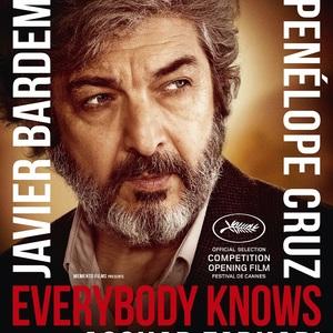 پوستر فیلم «همه می دانند» با بازی ریکاردو دارین