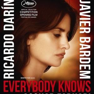 پوستر فیلم «همه می دانند» با بازی پنه لوپه کروز