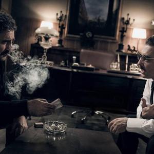 بهرام رادان و مهران احمدی در فیلم «آشفته گی»