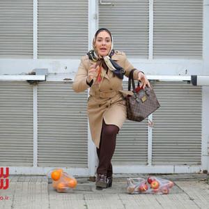 الهام حمیدی در فیلم «تخته گاز»