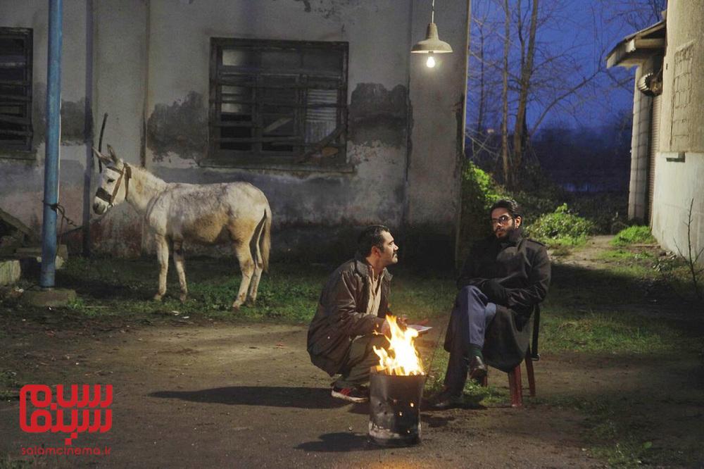 پوریا شکیبایی و بابک نوری در فیلم «مشمشه»
