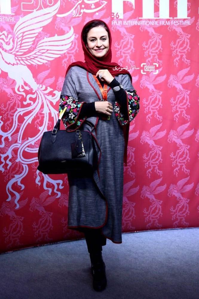 مریلا زارعی در اکران فیلم «سوءتفاهم» در سی و ششمین جشنواره جهانی فیلم فجر