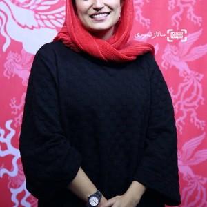 نگار جواهریان در اکران فیلم «گرگ بازی» در سی و ششمین جشنواره جهانی فیلم فجر