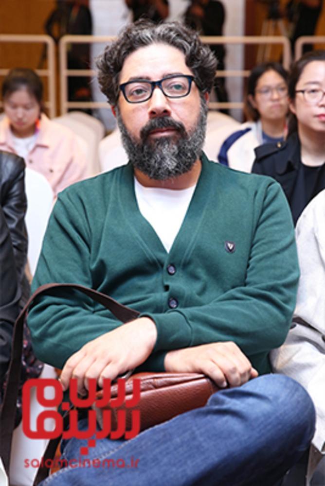 حامد ثابت در نشست پرسش و پاسخ فیلم «تابستان داغ» در جشنواره فیلم پکن2018