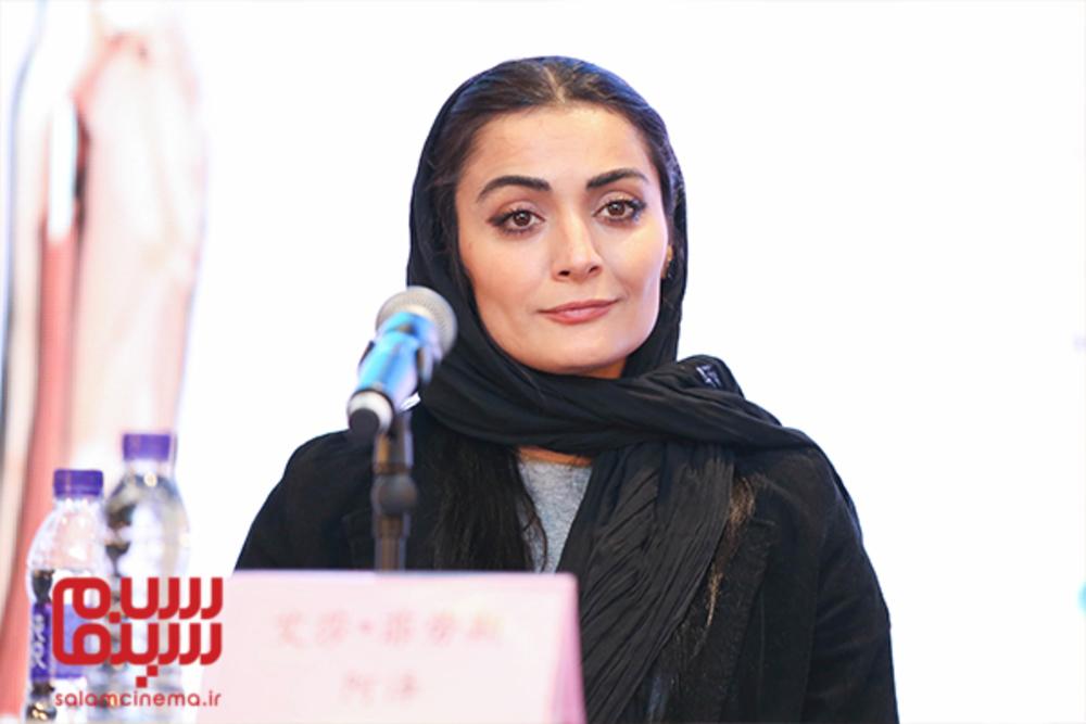 السا فیروزآذر در نشست پرسش و پاسخ فیلم «ملی و راه های نرفته اش» در جشنواره فیلم پکن2018